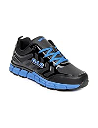 GAS Men Black New Grind Sports Shoes
