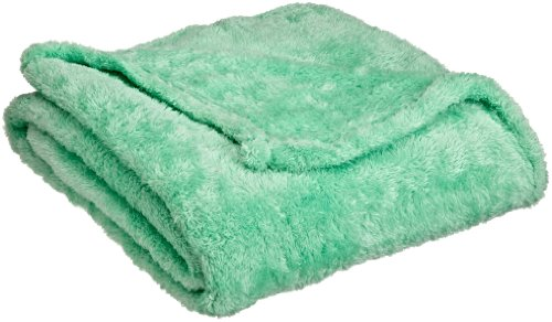 """Northpoint Everyone Ultra Plush Throw, 50""""X60"""", Light Green front-801921"""