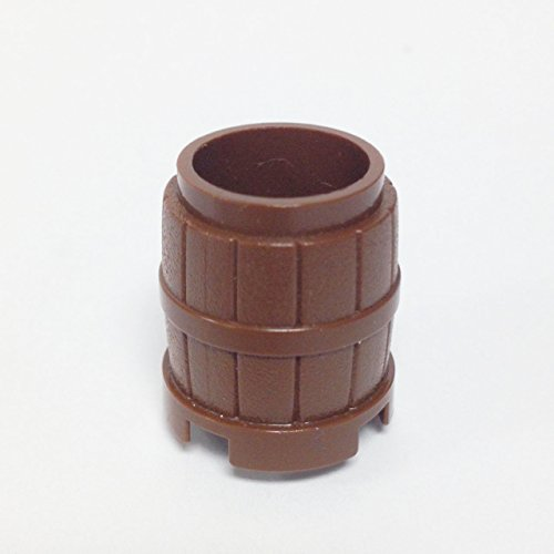 Lego Parts: Container, Barrel 2 x 2 x 2 (Brown) - 1