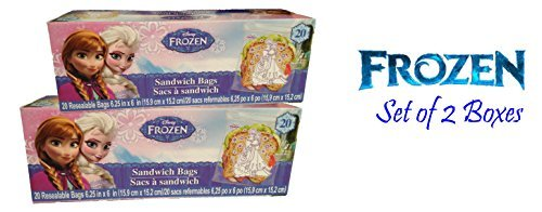 Disney® Frozen Sandwich Bags 40 Ct