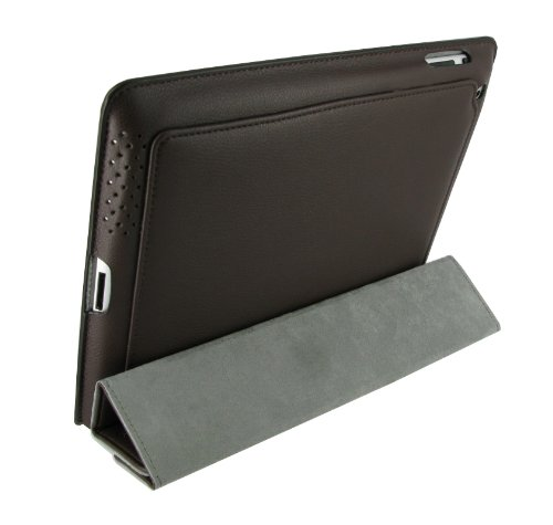 rooCASE Smart Case for iPad 2 - Brown