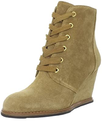 Kate Spade New York Women's Saundra Ankle Boot,Honey,10 M US