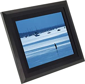 KitVision 12 inch Digital Photo Frame with Built-In Stand Supporting SD/MMC/MS Memory Cards - Black