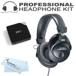 Audio-Technica ATH-M30 Professional Studio Monitor Closed-back Dynamic Stereo Headphones ( earphone ) ( earphone ) E6 BONUS FiiO Headphone Amplifier [parallel import goods]