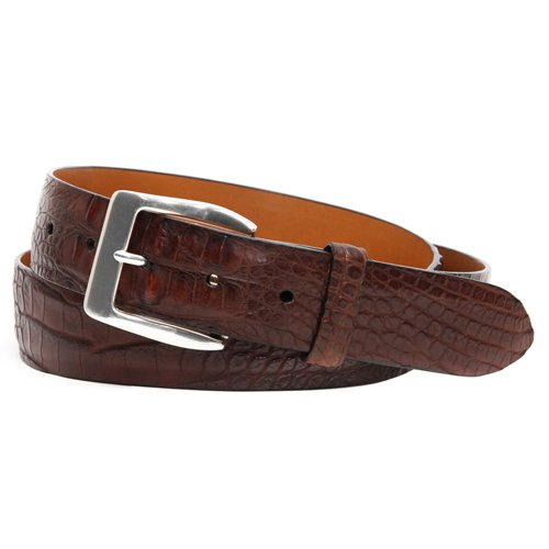 Spencer Hornback Alligator Belt
