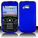 LG 900G for Stright Talk & Net 10 Accessory - Rubber Blue Hard Case Proctor ....