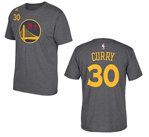 Golden State Warriors Stephen Curry Gray Chinese New Year T-Shirt (Steph Curry Merchandise compare prices)