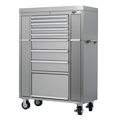 Viper Tool Storage V4108UBSS 41 Inch 8 Drawer 18G Stainless