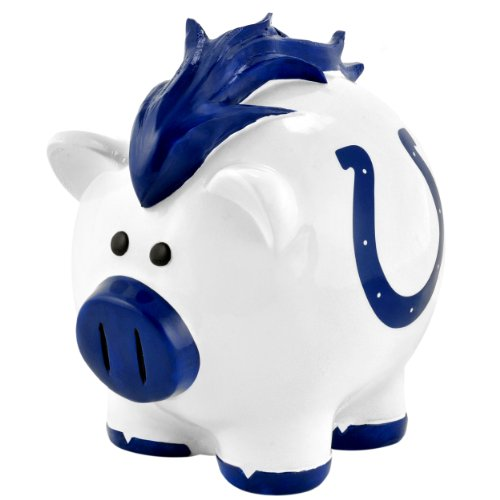NFL Indianpolis Colts Resin Large Thematic Piggy Bank