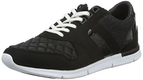 Tommy Hilfiger Damen S1285KYE 1C Sneakers, Schwarz (Flag Black 083), 40 EU thumbnail