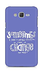 AMEZ painful situation change us Back Cover For Samsung Galaxy J7