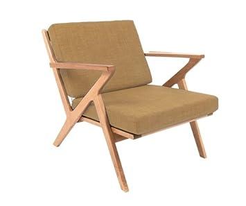 Fauteuil arm chair beige 1960