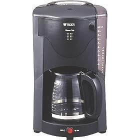 【クリックで詳細表示】TIGER ドリップタイプコーヒーメーカー コーヒーメーカー 12杯用アーバングレー ACJ-B120-HU