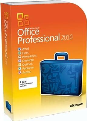 Microsoft Office Professional 2010 E-mail Key