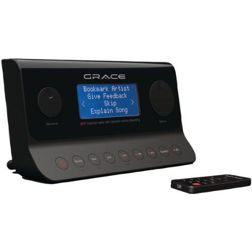 Grace Digital Audio Gdi-Ira500 Wi-Fi Internet Radio Adapter With Remote