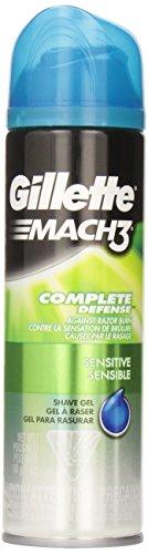 gillette-mach3-sensitive-shave-gel-7-oz-pack-of-6