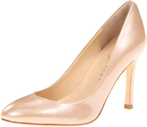 Ivanka Trump Women's Janie Pump,Sandy Patent,6.5 M US