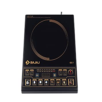 Bajaj Majesty ICX 7 Plus 1900-Watt Induction Cooktop