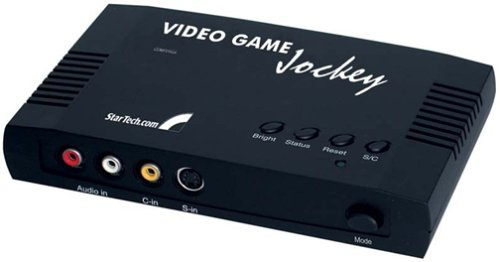 StarTech COMP2VGA Video Game Jockey Console To PC Monitor Converter Adapter