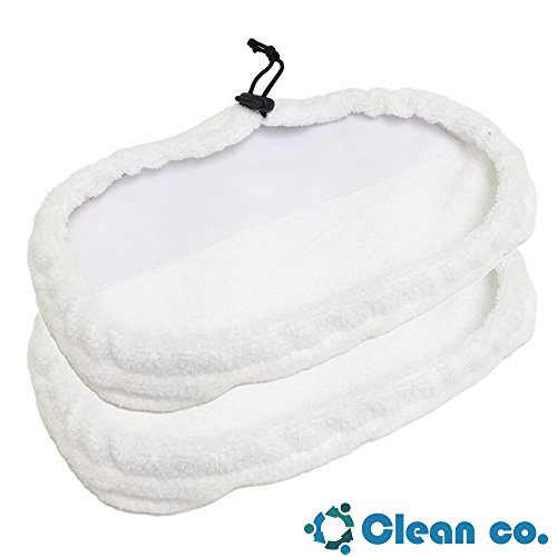 Clean Co Bissell Mop Pads Replacements, Steam Compatible with 1867 203-2158, 2032158 and 3255 x 2 (Bissel 1867 compare prices)