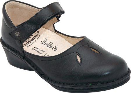 Women's Finn Comfort CANBERRA Shoes BLACK 3.5 M UK, 6 M