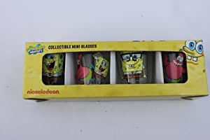 Spongebob Squarepants Collectible Mini Glasses
