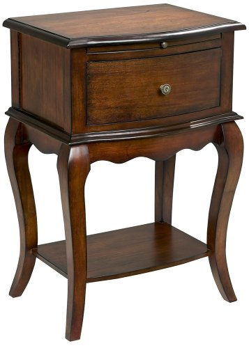 Cheap Cherry Finish Single Drawer Traditional End Table (DT-2025 CARB 2)
