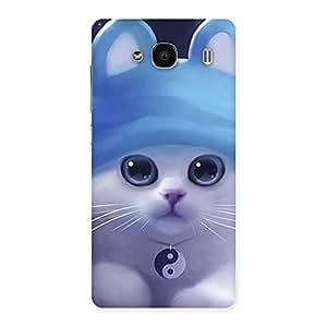 Special Tie Chi Cat Multicolor Back Case Cover for Redmi 2