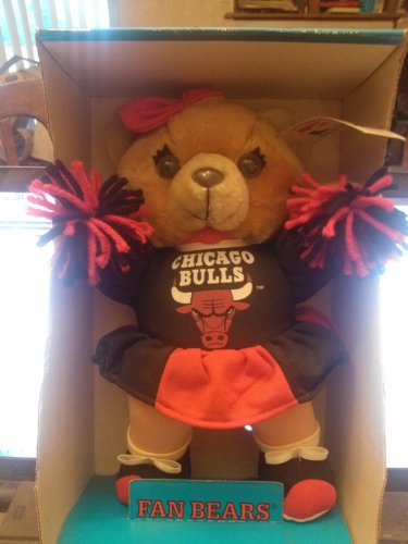 Play by Play Chicago Bulls Cheerleader Bear Licensed official at Amazon.com