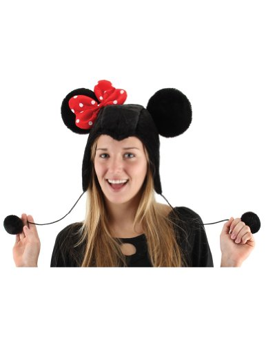 Minnie Mouse Hoodie Hat Halloween Costume - 1 size