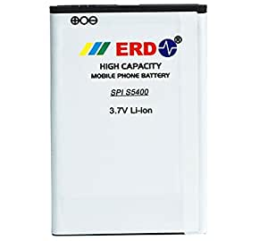 SPICE S5400 MOBILE BATTERY By ERD { SUPER POWER BATTERY }