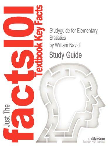 Studyguide for Elementary Statistics by William Navidi, ISBN 9780077573676