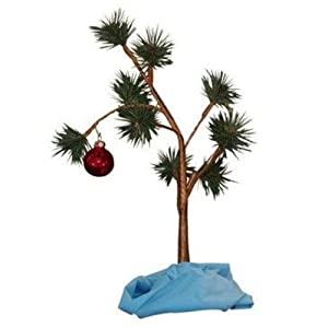 Charlie Brown Christmas Tree with Blanket (Non-Musical)
