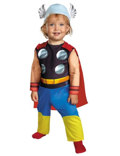 Baby-boys - Thor Toddler Costume 12-18 Months Halloween Costume