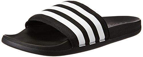 adidas Adilette Supercloud Plus, Scarpe da Spiaggia e Piscina Uomo, Nero (Core Black/Ftwr White/Core Black), 42 EU