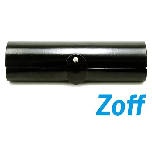 Zoff(ゾフ) フォルムとエナメル素材がポイントのメガネケース(Z-Tapir_E_BK)