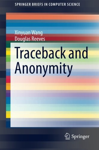 Traceback and Anonymity (SpringerBriefs in Computer Science) PDF