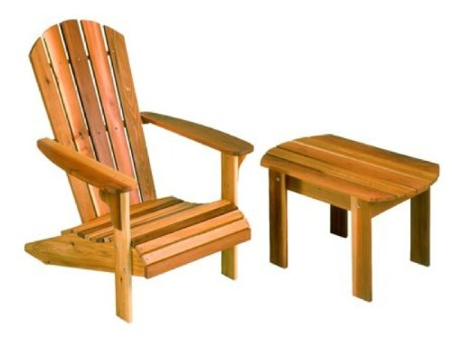 Adirondack Chair and Table Woodworking Plan *WOOD AND HARDWARE NOT INCLUDED*