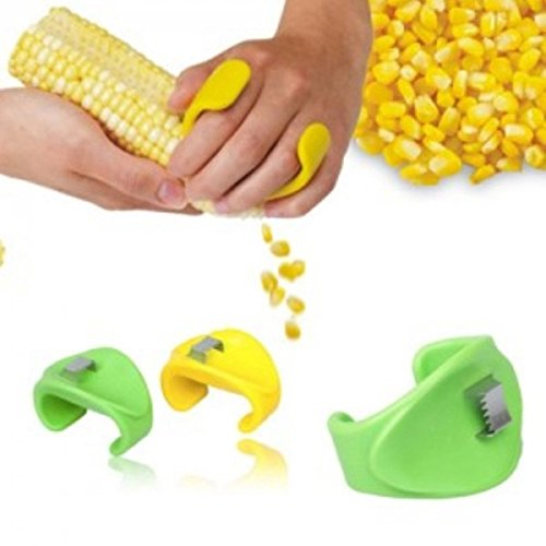 Creative Household Kitchen Necessities Planing Corn Maize Peeling Knife Stripping Device Maize Corn Stripper Corn Threshing Machine-color Random (Corn Threshing Machine compare prices)