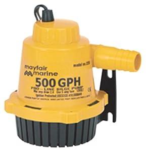Buy Johnson Pumps of America 22502 Marine Pro-Line 500 GPH Bilge Pump by Johnson Pumps