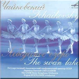 Tchaikovsky - The Swan Lake - Evgeni Svetlanov (3 CD Set)