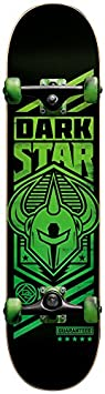 "Darkstar Army Skateboard complet Neon Green 7,5"""