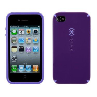 Speck Candyshell Case Nightshade Purple (Purple/Lt. Purple) Iphone 4 (For AT&T)