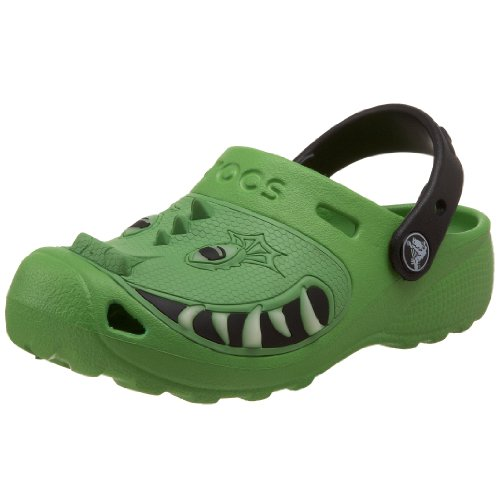 crocs Toddler/Little Kid Dragon Clog,Lime,8/9 M US Toddler