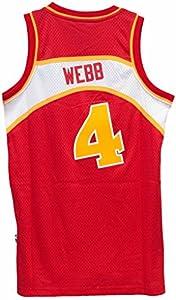 Atlanta Hawks Spud Webb Swingman Jersey by adidas