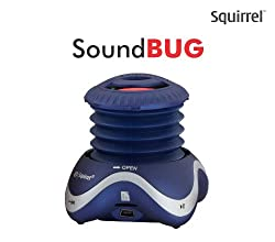 Squirrel SoundBug Portable Speaker (Blue)