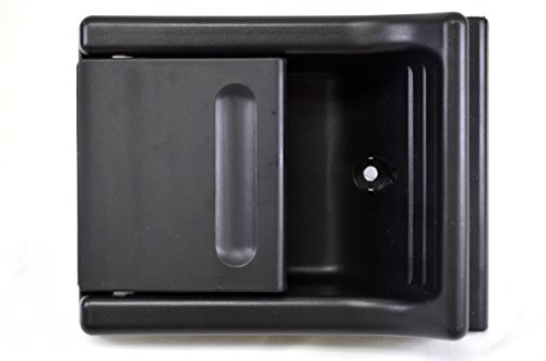 PT Auto Warehouse CH-2950A-RER - Inside Interior Sliding Door Handle, Black - Left or Right (Dodge Rer compare prices)
