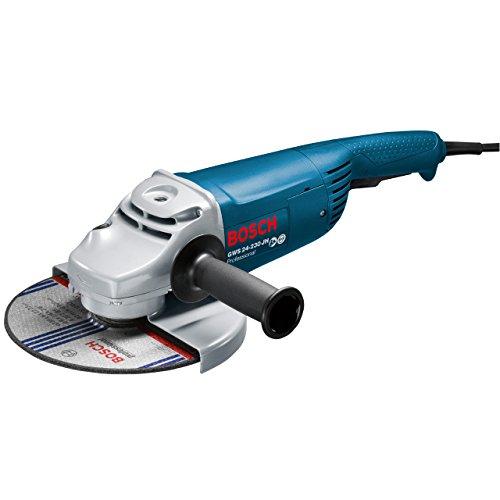 Bosch-Professional-GWS-24-230-JH-Winkelschleifer-230-mm-2400-Watt-mit-Anlaufstrombegrenzung-Wiederanlaufschutz-in-Karton