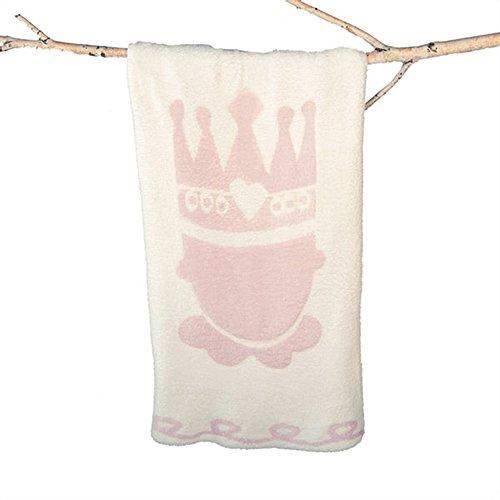 Barefoot Dreams Little Royals CozyChic Receiving Blanket