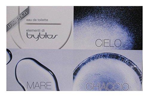Byblos Mare Ghiaccio Cielo Eau de Toilette - Confezione da 3 x 15 ml